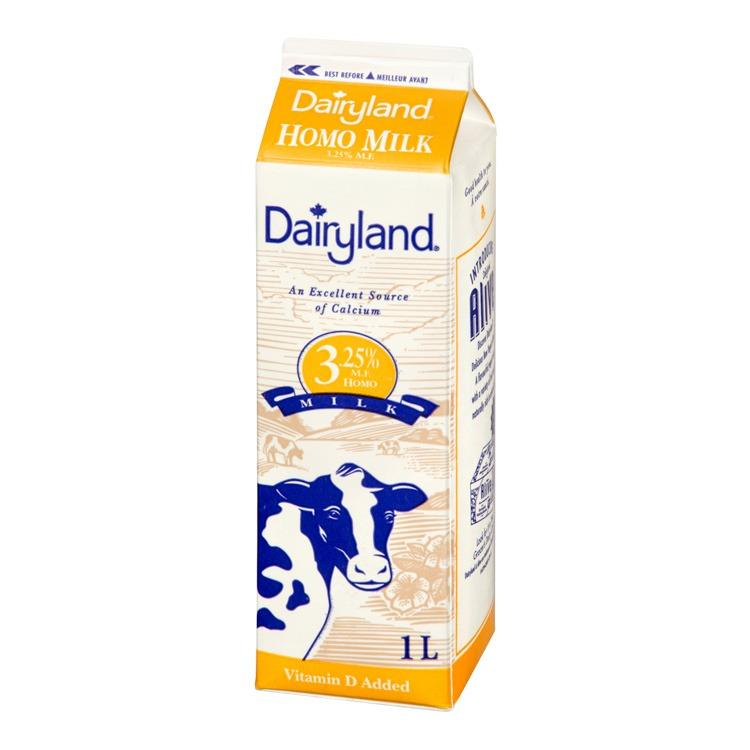 Dairyland 1l Homo Milk