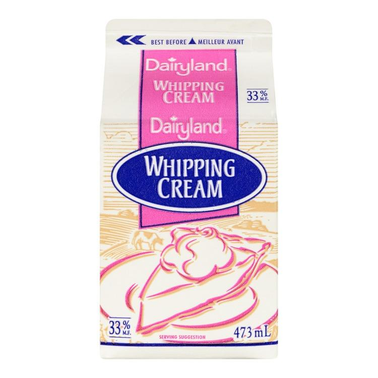 Dairyland 473ml Whipping Cream