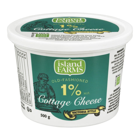 Island Farms 500g 1% Cottage Cheese
