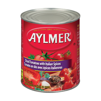 Aylmer Diced Tomato with Italian Spices
