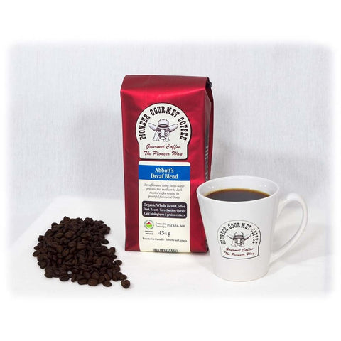 Abbot's Decaf Blend Poineer Gourmet Coffee
