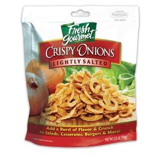 Fresh Gourmet Crisp Onion Lightly Salted
