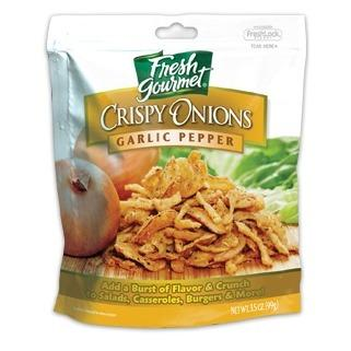 Fresh Gourmet Crisp Onion Garlic Pepper