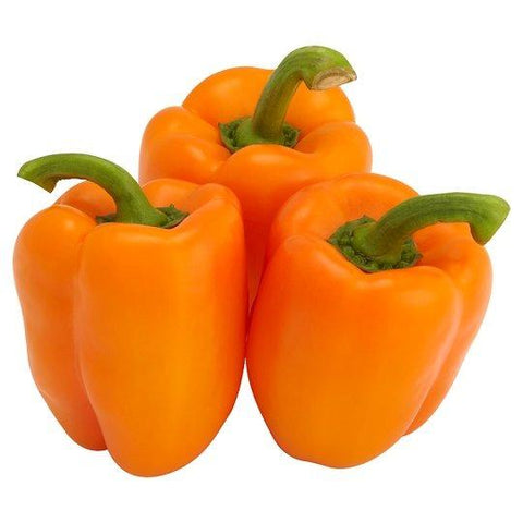 Orange Peppers BC (per pound)