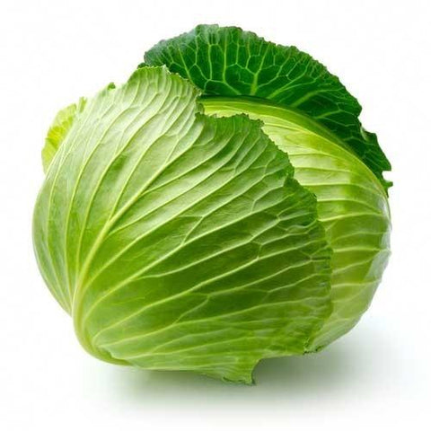 Organic Green Cabbage (each)