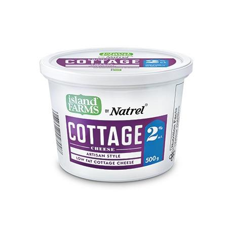 Island Farms 500g 2% Cottage Cheese