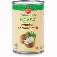 Western Family Organic Coconut Milk