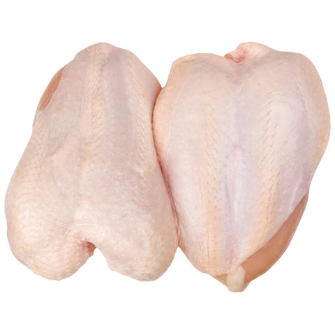 .Bone-In Chicken Breast - 11oz (310g) Farm Fed (Abbotsford)
