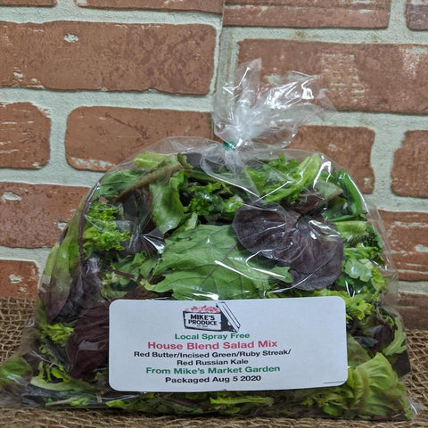 House Blend Salad Mix 5oz Mike's Produce