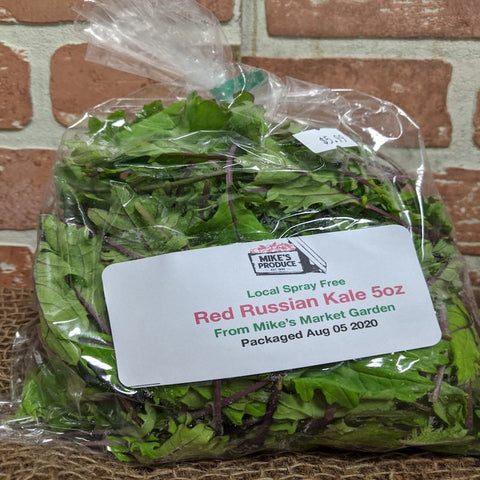 Red Russian Kale 5oz Mike's Market Garden