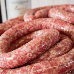 .Pork & Apple Sausage  (In-Store-Made)- 1Lb (454g)
