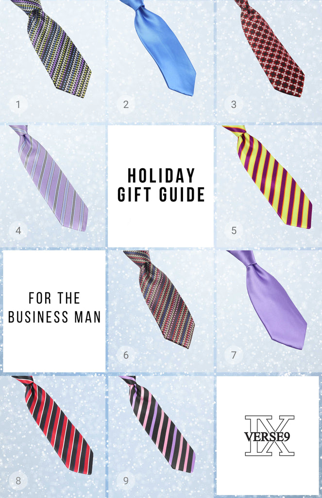 Men's Holiday Gift Guide for the Business Conservative Man