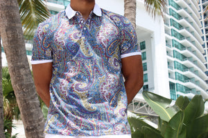 Paisley Polo Shirt - 10 B