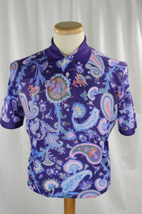 PAISLEY POLO SHIRT - 4