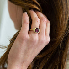 Lola Brooks<br>14K Rhodolite Garnet Ring