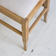 Wooden Upholstery Stool