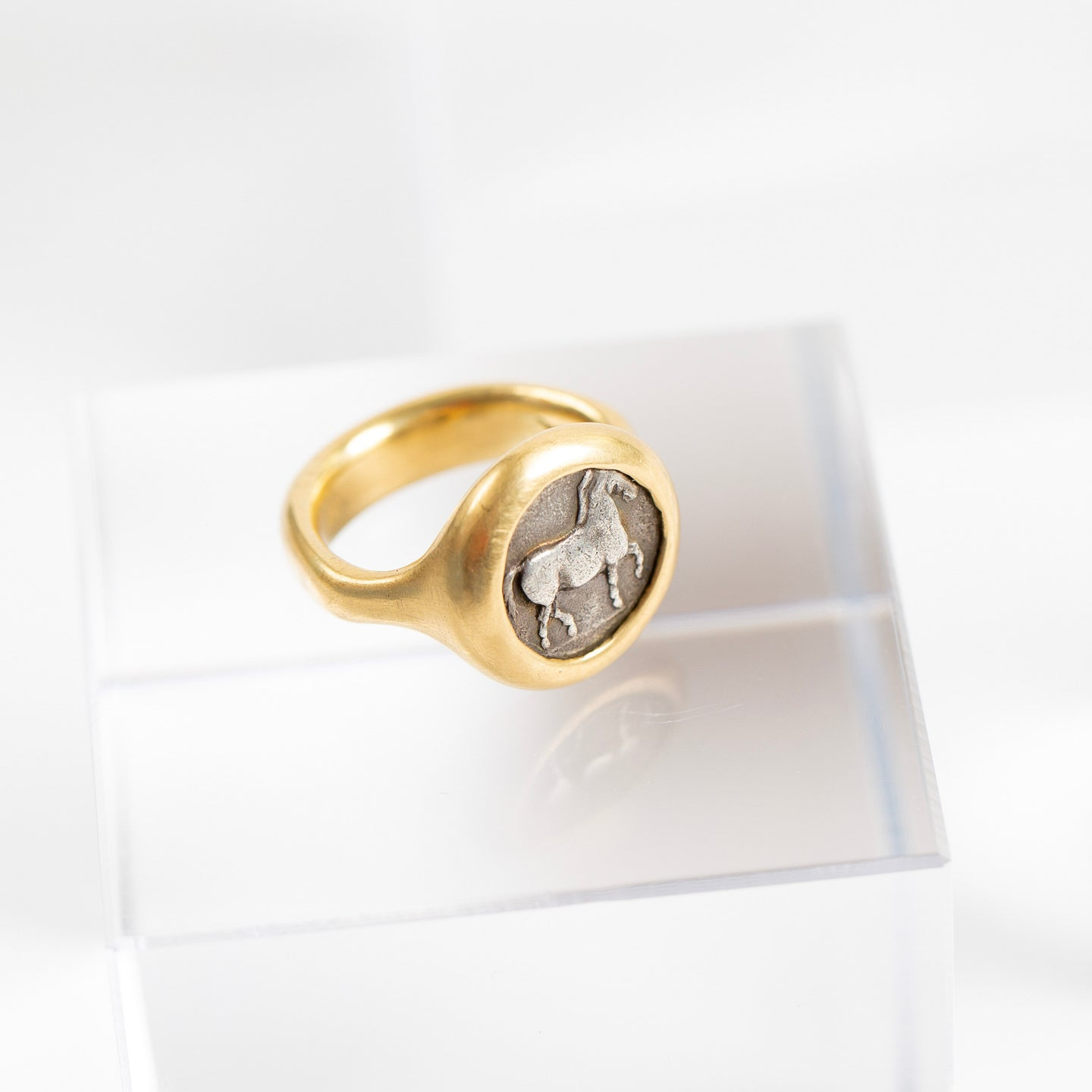 Lola Brooks<br> Ancient Greek Coin Ring