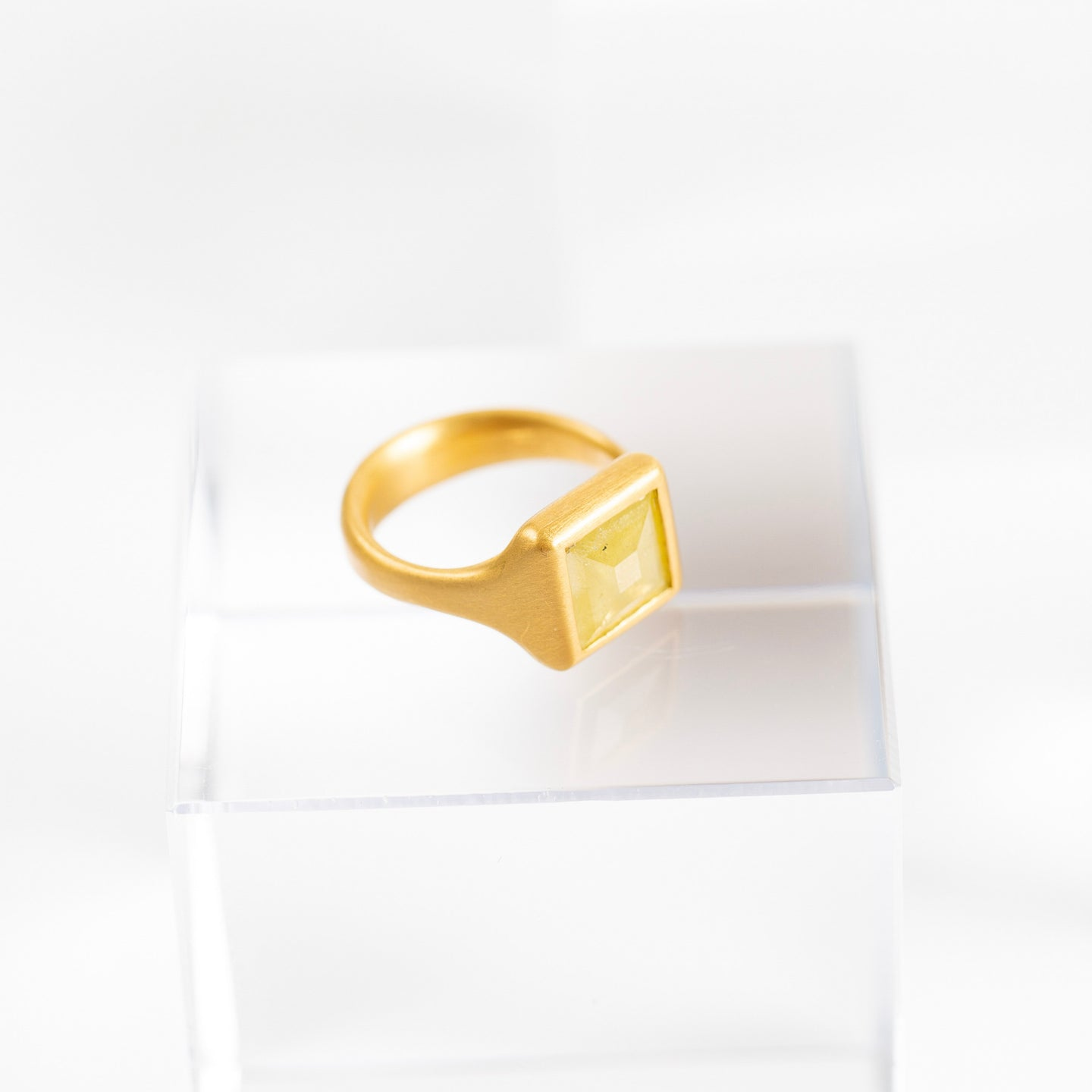 Lola Brooks<br> Yellow Diamond ring