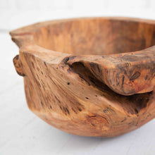 Handmade Teak Bowl from Mexico