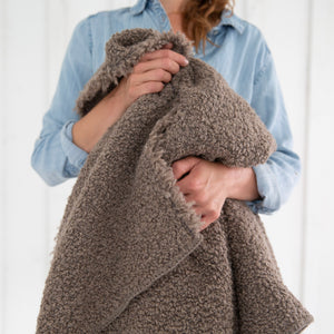 Alpaca-Wool-Linen Throw