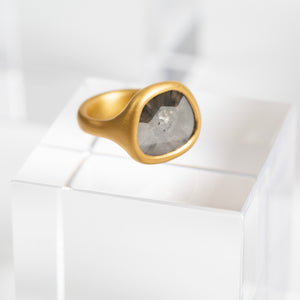 Lola Brooks<br> Smokey Grey Diamond Ring