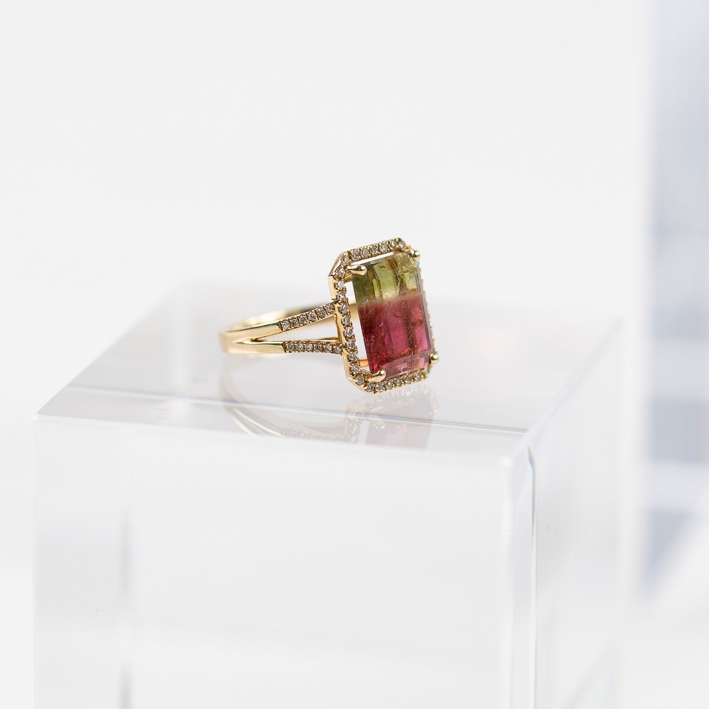 Liven Multicolored Tourmaline Ring