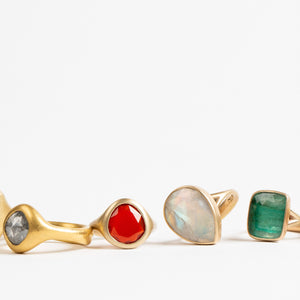 Lola Brooks<br> Carnelian Ring