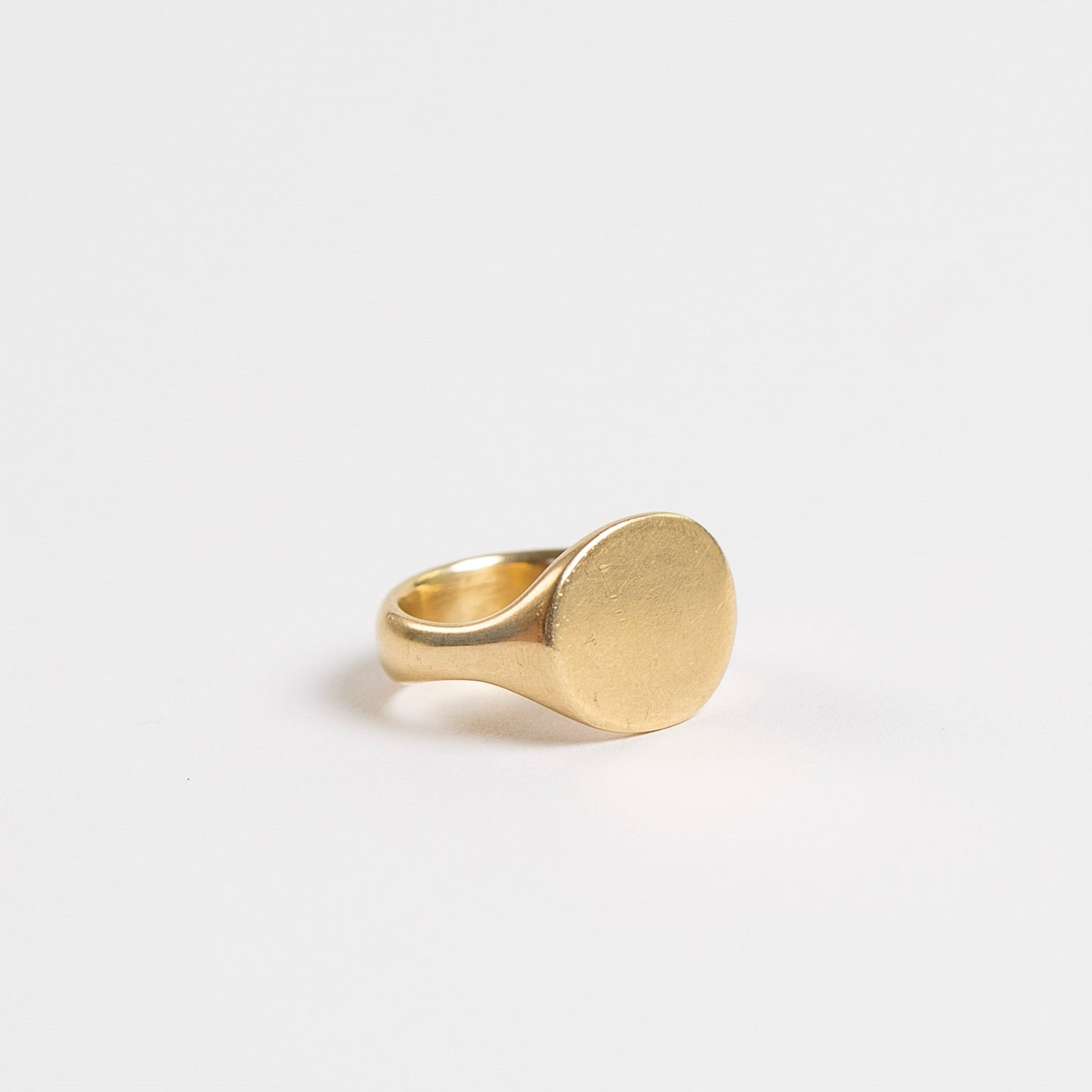 Lola Brooks<br>Ovalish Signet Ring