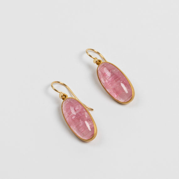 Lola Brooks<br> Cat's Eye Bubblegum Tourmaline Drops
