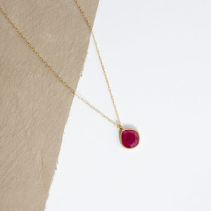 Lola Brooks<br>18K Ruby Pendant