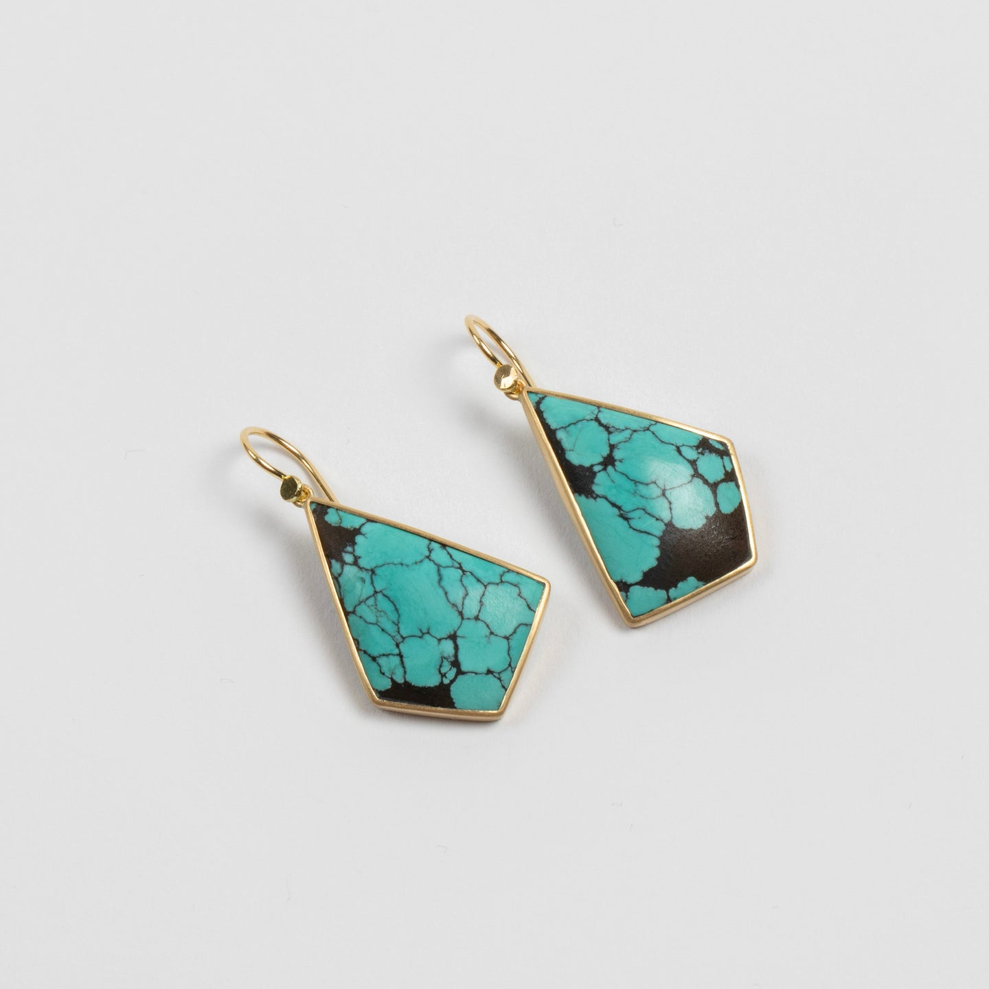 Lola Brooks<br> Tibetan Turquoise Kite Drops