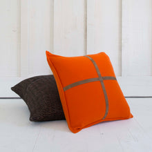 Cashmere Suede Cross Pillow