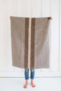 Smoke Stripe Throw