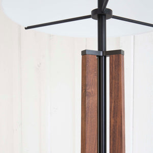 Walnut Floor Lamp