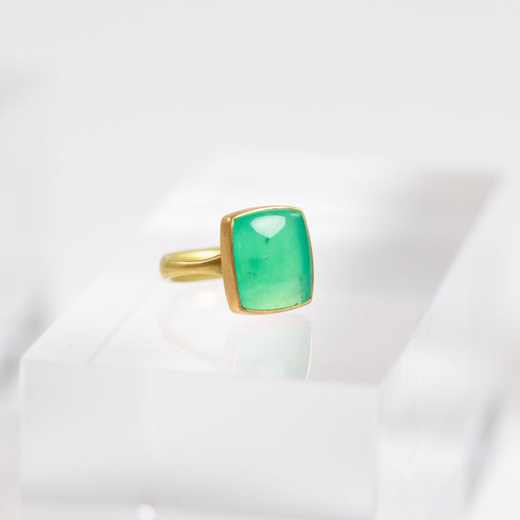 Lola Brooks<br>Chrysoprase Ring