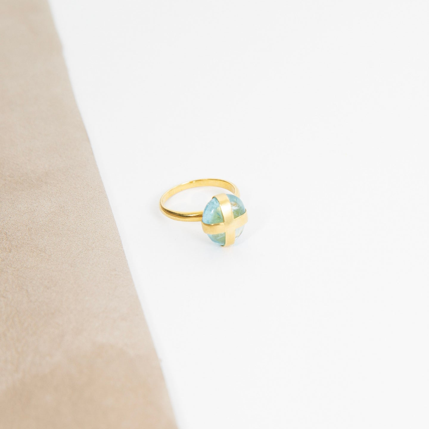 Pippa Small 18K Gold Parcel Ring