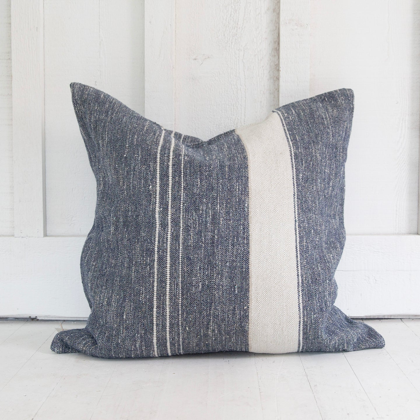 North Sea Stripe Pillow