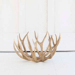 Antler Bowl, Natural