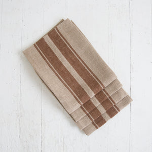 Rust Stripe Napkin