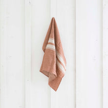 Rust Linen Tea Towel