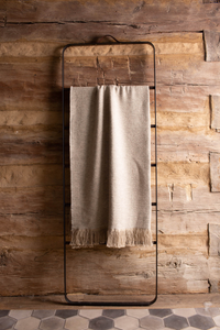 Linen-Alpaca Throw <br> Sully