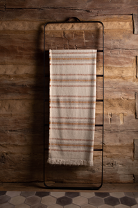 Linen-Alpaca Throw <br> Justin