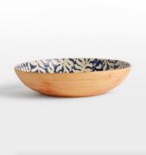 Terrafirma <br> Fern Cobalt Medium Bowl