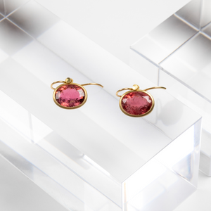 Lola Brooks<br> Mismatch Rosy Tourmaline Ovals