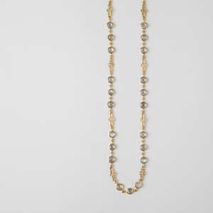 Jill Blake<br> Cabochon Moonstone Necklace