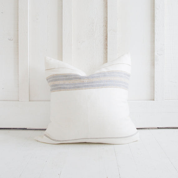 Stripe Stitch Pillow