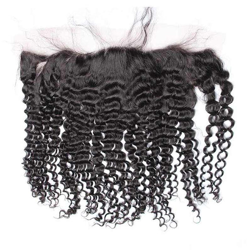 Indian Curly Lace Frontal