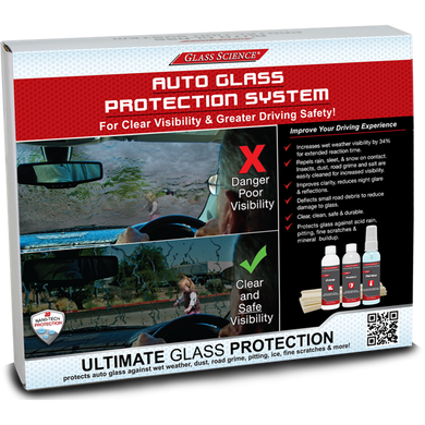 AUTOMOTIVE 3-STEP CRITICAL GLASS KIT