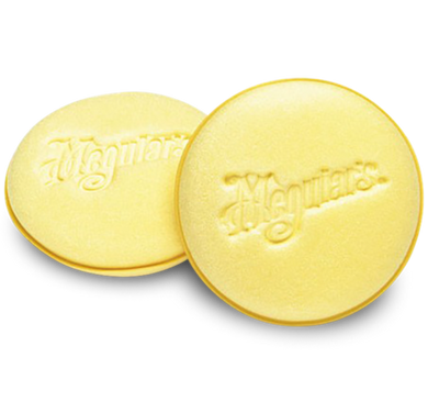 MEGUIARS FOAM APPLICATOR PADS (2 PACK)