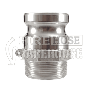 Aluminium Camlock Male with Male BSP Thread